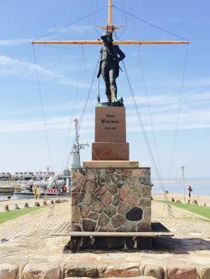 Das Denkmal für den Nationalhelden