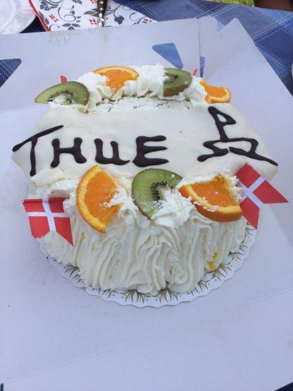 Thue's Geburtstagstorte