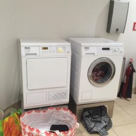 Ständig in Benutzung: Waschmaschine und Trockner