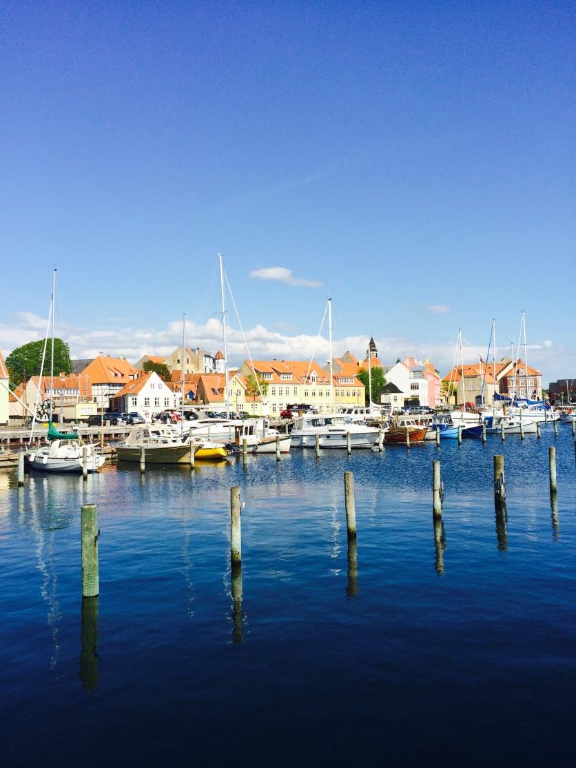 Der Stadthafen von Fåborg
