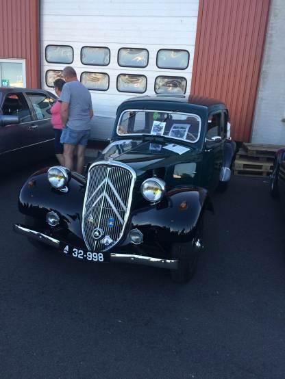 """Ein richtiges """"Veteranbil"""": dieser Citroën"""