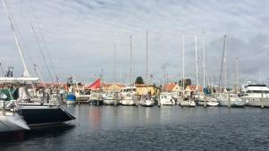 Gemütliche Hafenatmosphäre