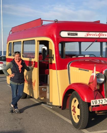 Die Bordfrau und der Veteranbus