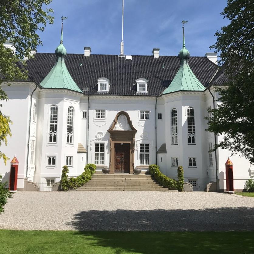 Marselisborg Eingang