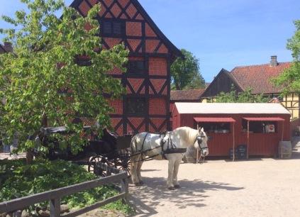Pferd Gamle By