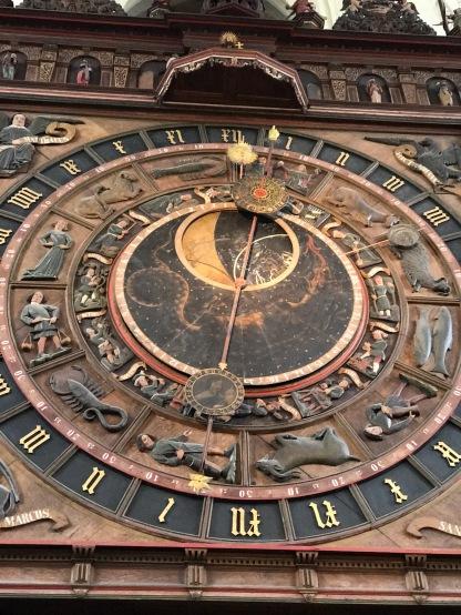 Die astronomische Uhr in der Marienkirche Rostock