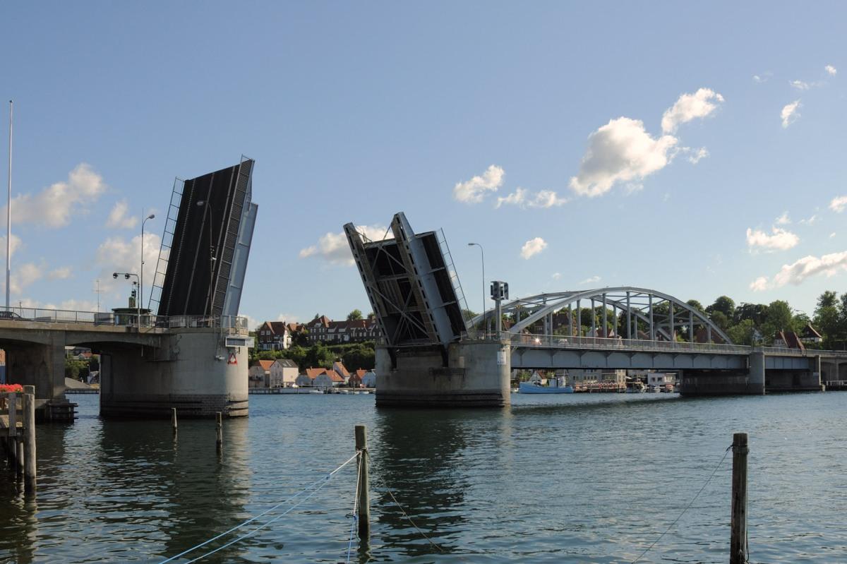 Update 2018: Öffnungszeiten der Brücke in Sonderburg (Kong Christians den X's. Bro)