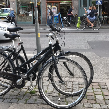 Leihräder vom Tuborg Havn