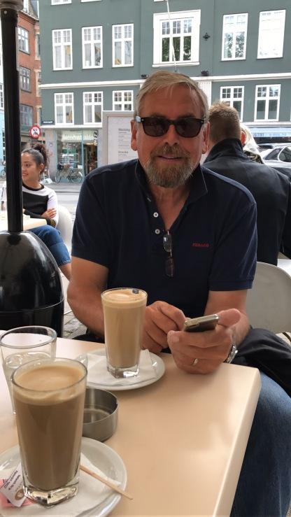 Kaffeepause unterwegs