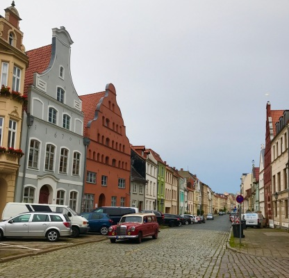 Straßenzug in Wismar