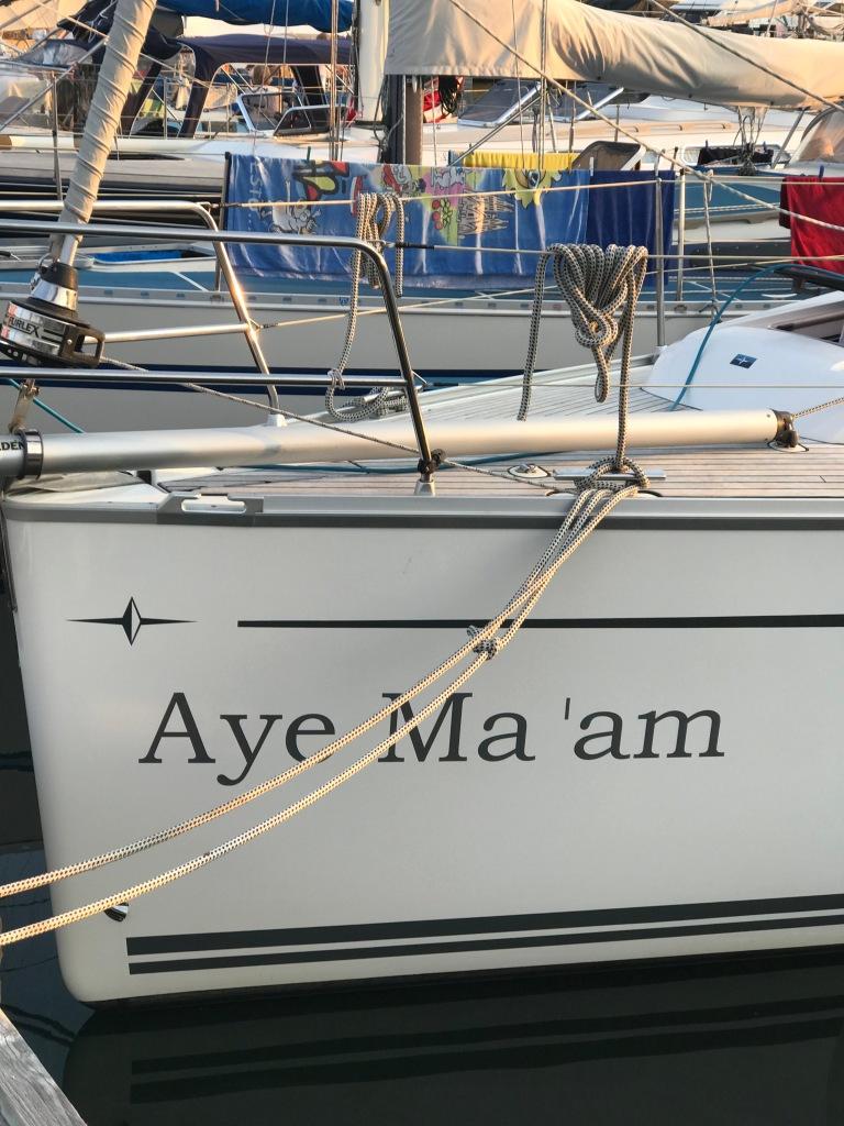 Aye Ma'am