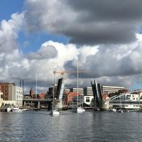 Update 2020: Brücken-Öffnungszeiten in Sønderborg (Kong Christian X's Bro)